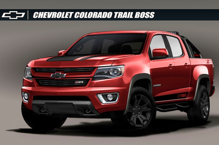 2016 Chevrolet Colorado Z71 Trail Boss 3.0