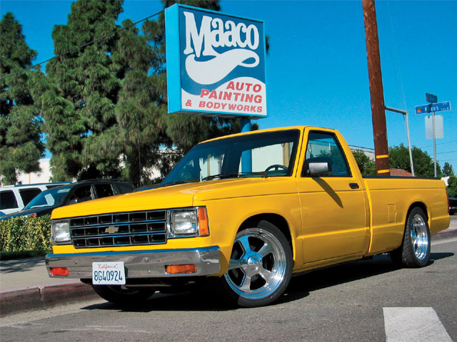 1989 Chevy S10 painted Truck