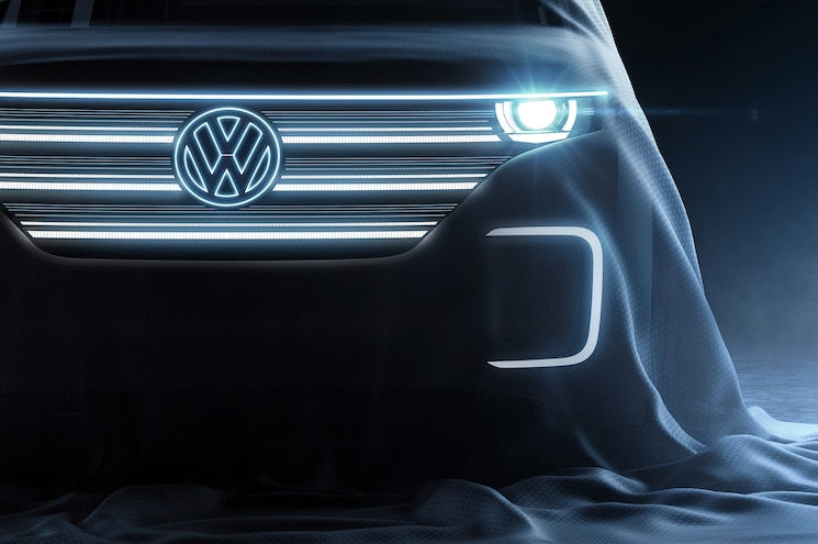 UPDATED: Volkswagen Teases its CES-Bound Electric Vehicle Concept