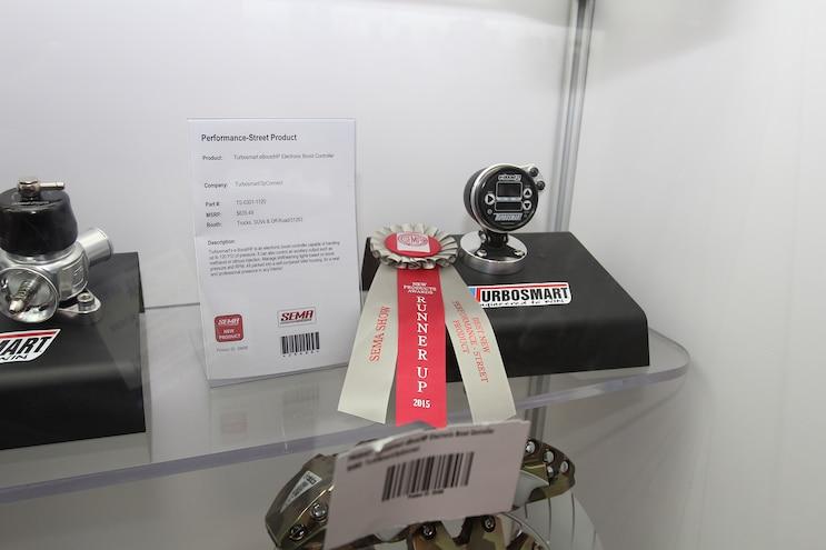 017 2015 SEMA Turbosmart EBoostHP Boost Controller