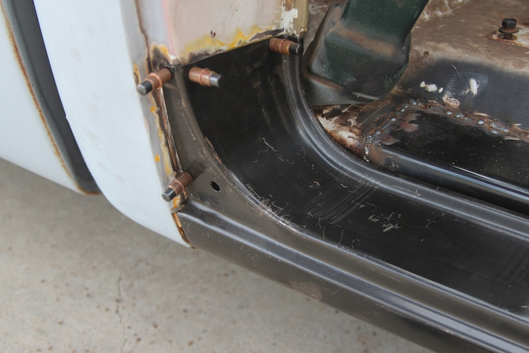 28 1969 Chevroler C 10  Rust Repair