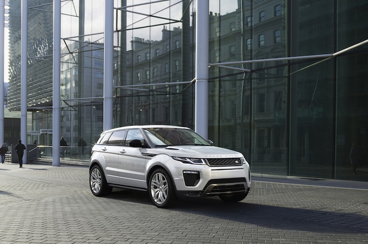 2016 Range Rover Evoque Updated With New Styling, Diesel Engines