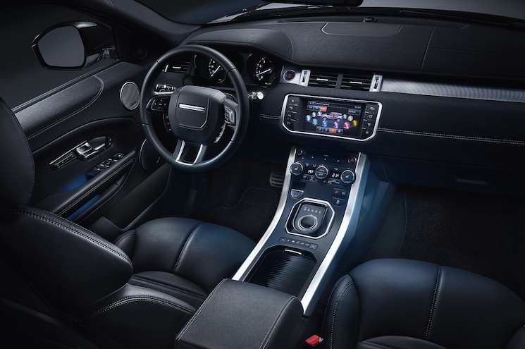 2016 Land Rover Range Rover Evoque Interior