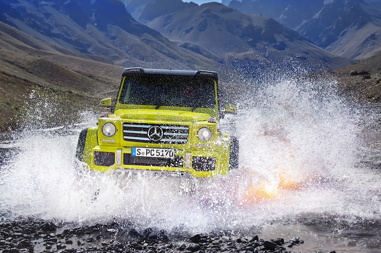 Mercedes Benz G500 4x4 Squared Front End 02