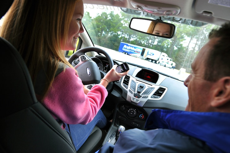 002 Auto News Kelley Blue Book Distracted Driving Texting Ban Survey Study