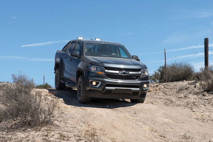 002 2016 Chevrolet Colorado 2 8L Duramax Diesel 4x4 Z71 Trail Boss Edition Off Road Front View