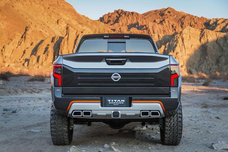 Nissan Titan Warrior Concept Rear End