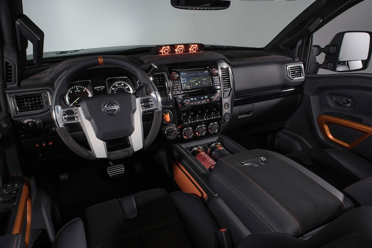 Nissan Titan Warrior Concept Cabin 01