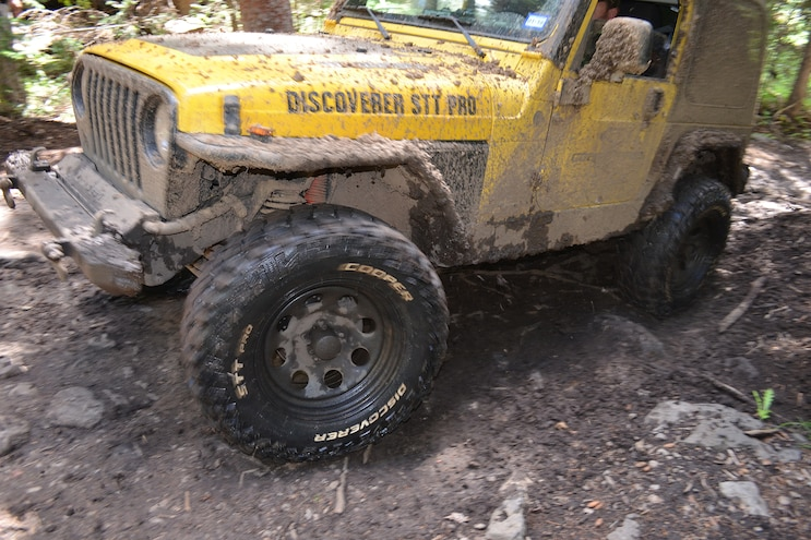 Cooper Discoverer STT Pro Driving Through Mud