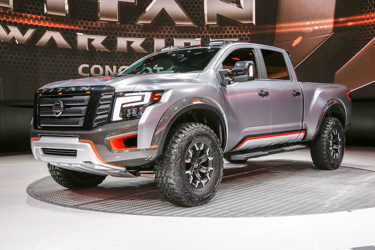 Nissan Titan XD Warrior Concept Walk-Around Video
