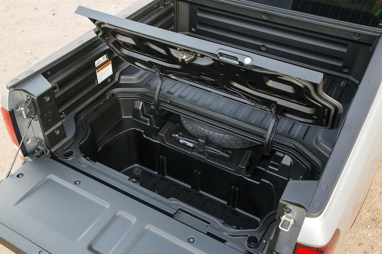 2017 Honda Ridgeline Spare Tire