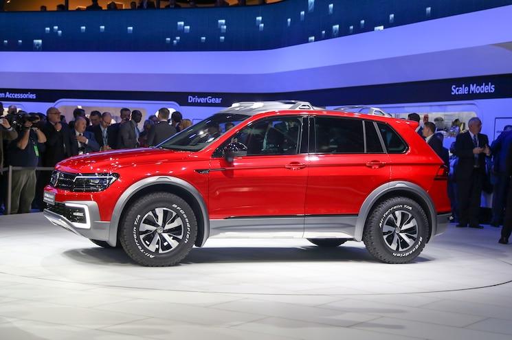 Volkswagen Tiguan GTE Active Concept Front Side