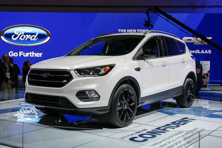 Sport Appearance Package Shows up on 2017 Ford Escape
