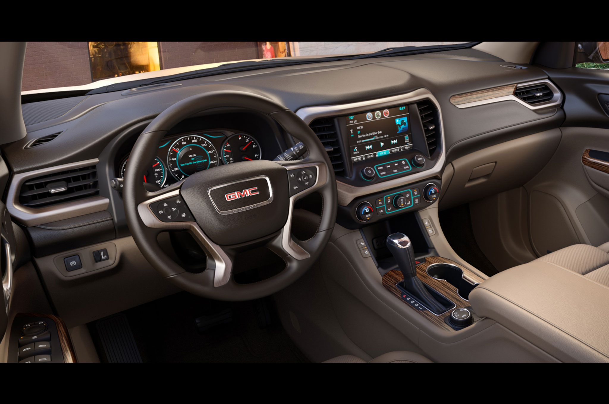 2017 Gmc Acadia Features Rear Seat Reminder Photo Image Gallery