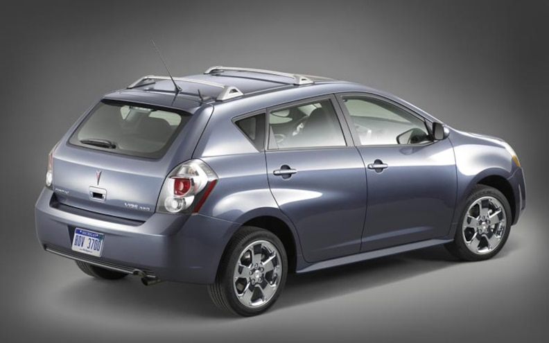 2009 Pontiac Vibe First Look Motor Trend