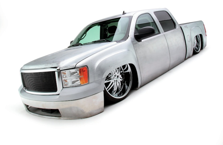 Body Dropped 2005 Gmc Sierra Front Three Quarter