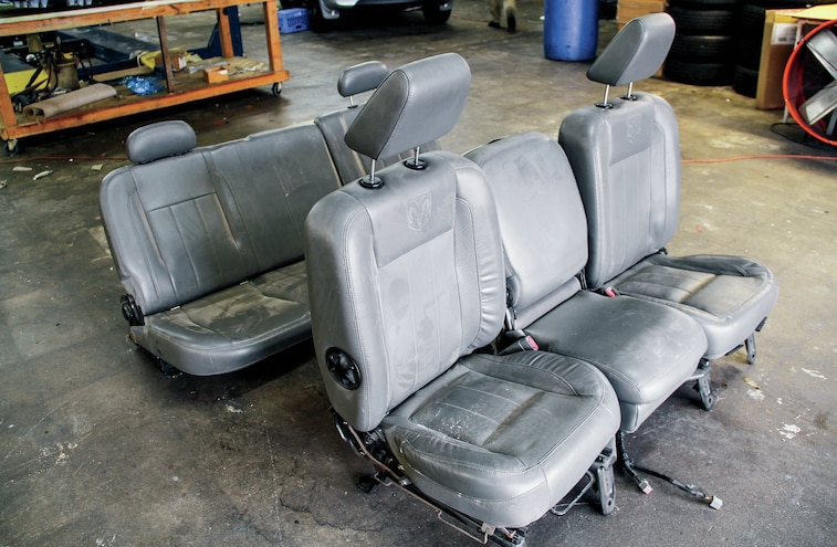 Stock Ram Seats