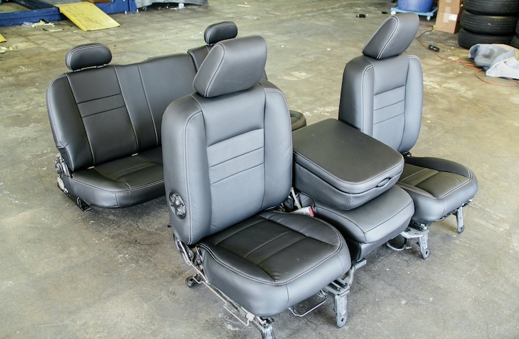 2006 Dodge Ram Leather Interior Swap