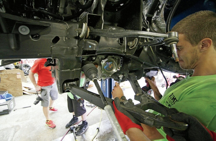 Upper And Lower Control Arm Removal