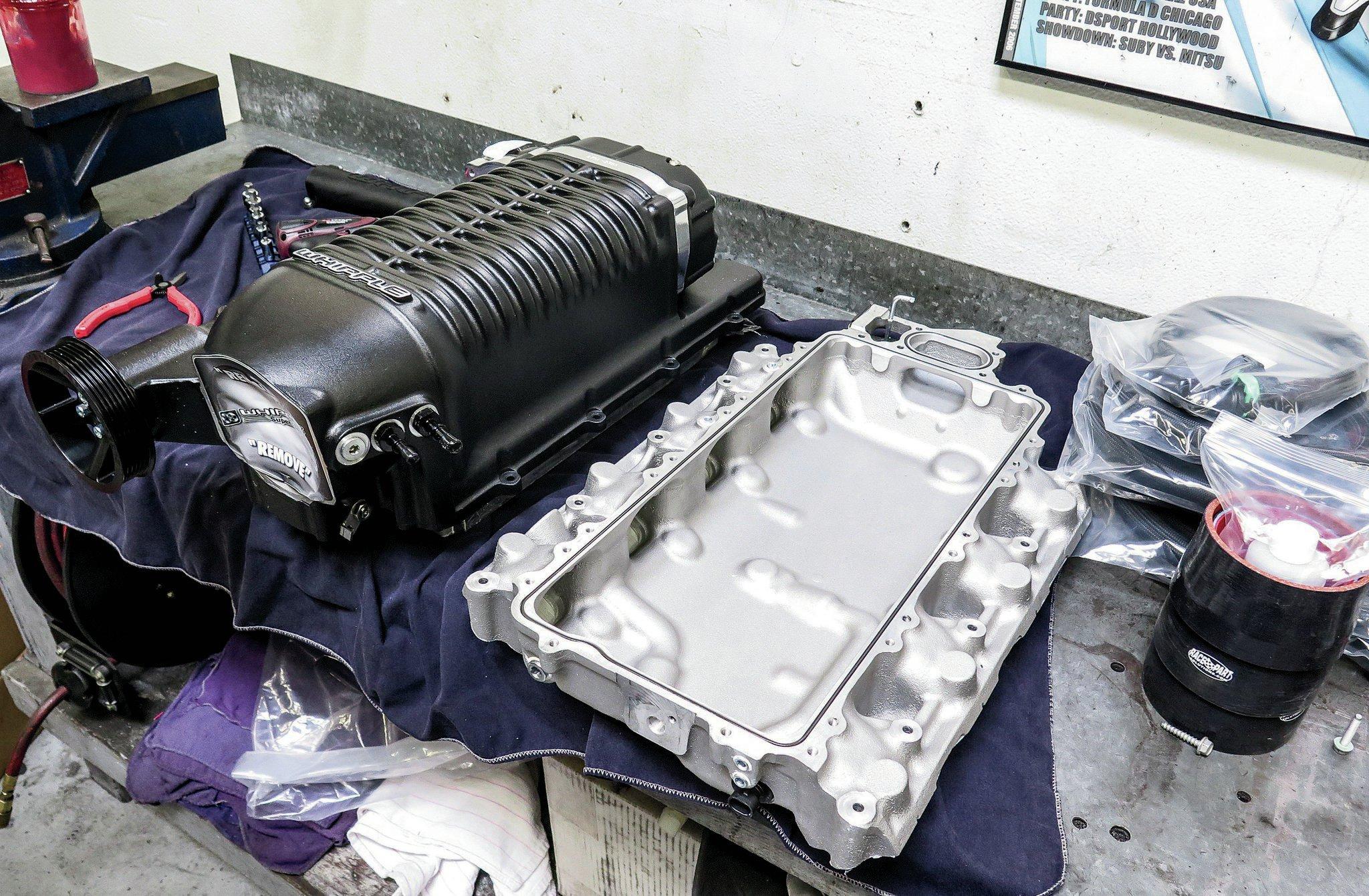 2014-GM 5 3L V8 LT1 Whipple Supercharger Install