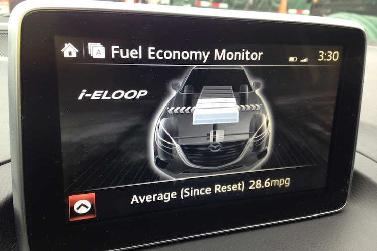 2014 Mazda3 S GT I ELOOP Screen