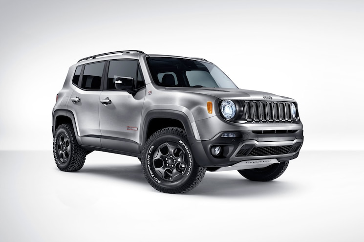 Jeep Renegade Hard Steel Concept Bares it All