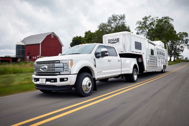 008 2017 Ford Super Duty Towing Trailer