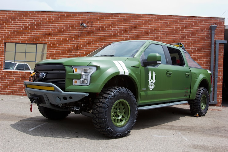 Garage Editorial: Wrapped and Painted Trucks
