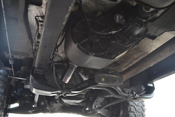 015 2011 Ford Ranger Cummins 4BT Transfer Case Front Axle