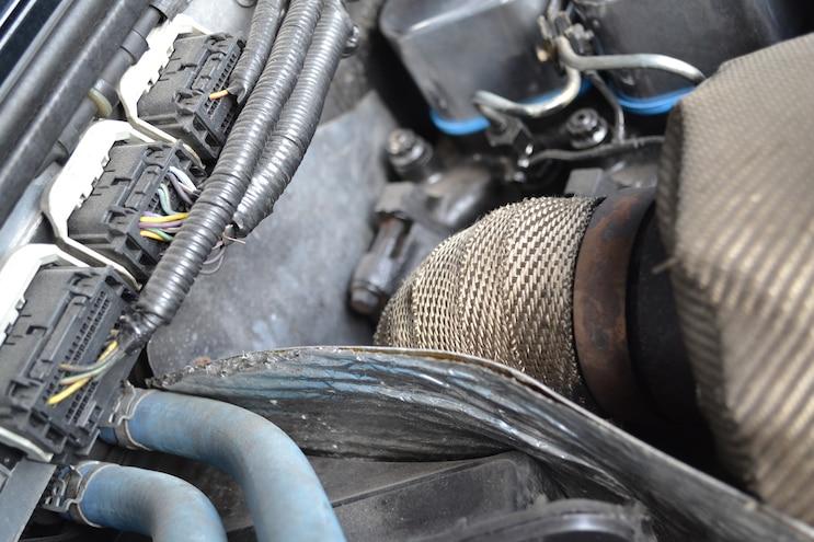 008 2011 Ford Ranger Cummins 4BT Downpipe