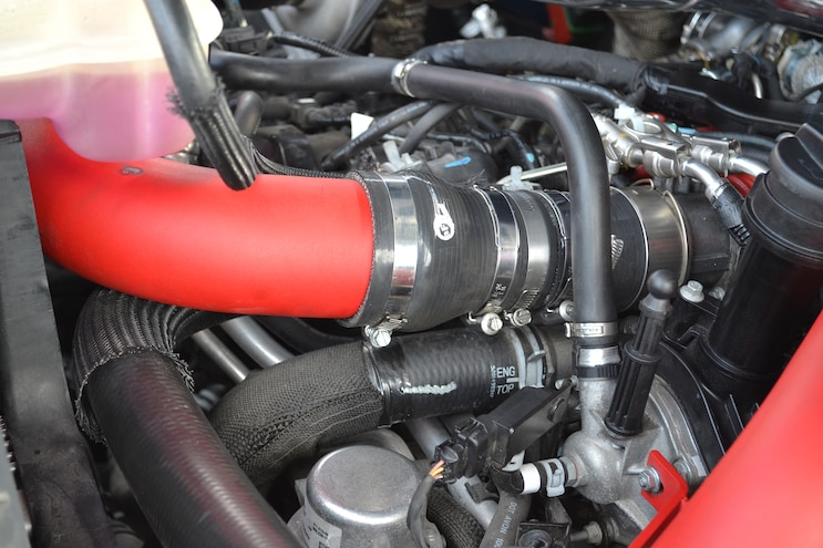 A 2015 Ram EcoDiesel with a Compound Turbo Punch