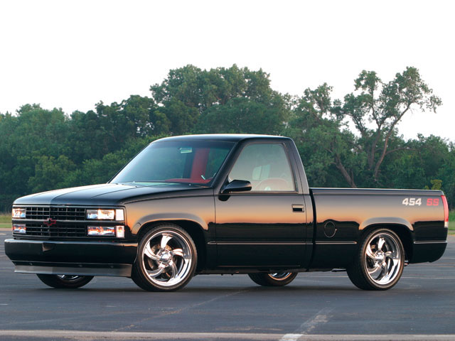 1990 Chevy 454 SS - Black Beauty Photo & Image Gallery