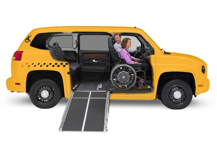 Mobility Ventures Mv 1 Taxi Cutaway