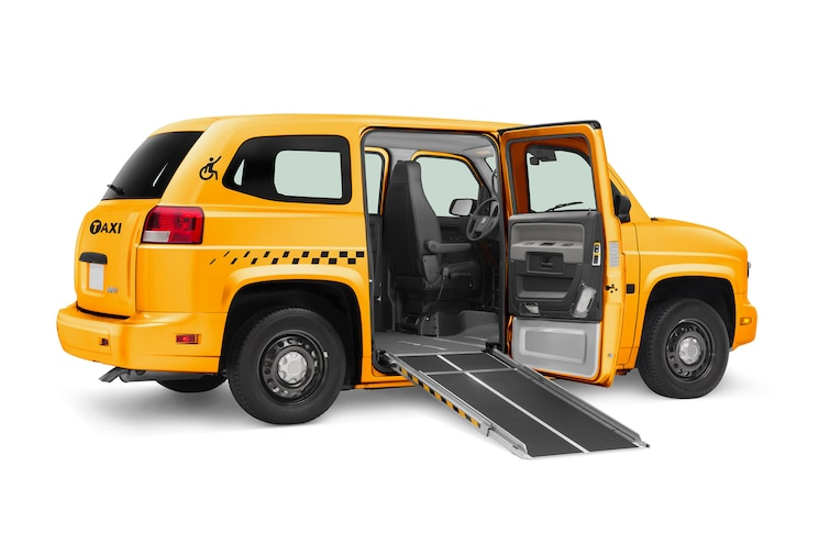 Mobility Ventures Mv 1 Taxi Side Ramp