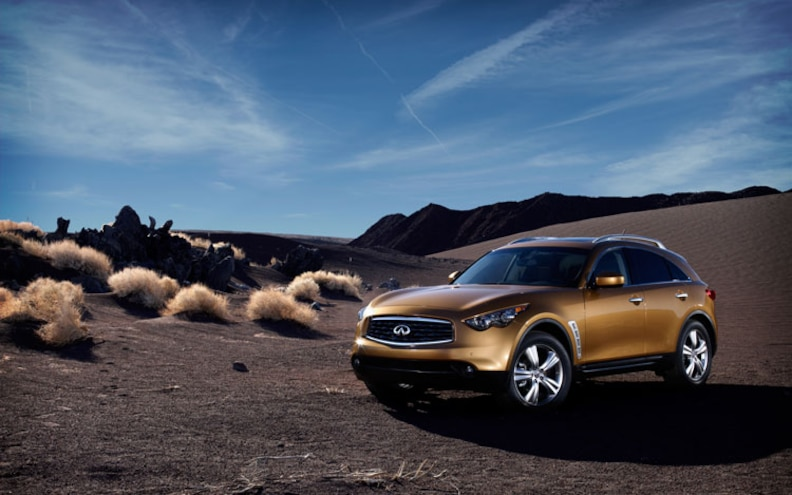 2009 Infiniti FX: What to expect on the U S -spec FX50 and