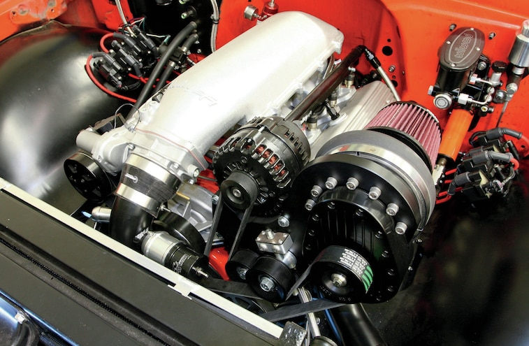 Chevrolet Performance Parts Ls327 After We Dropped It Into The C10
