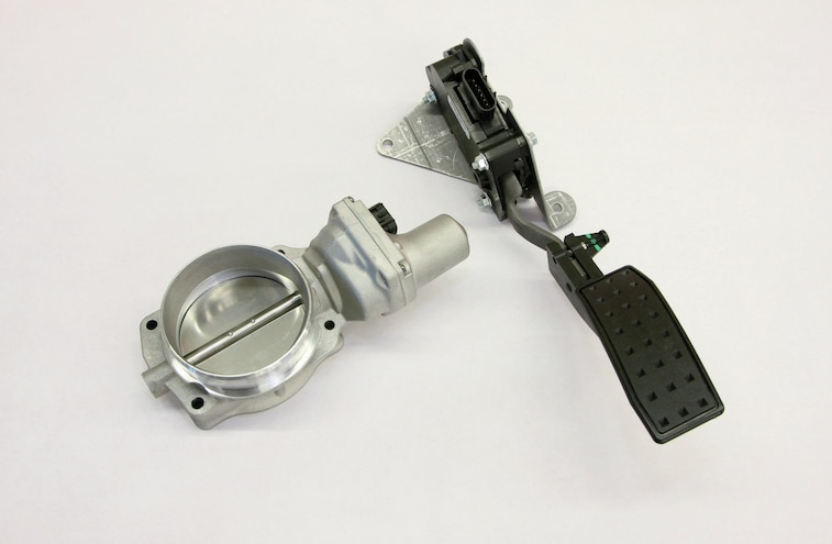 Gm Drive By Wire Throttle Pedal And Throttle Body
