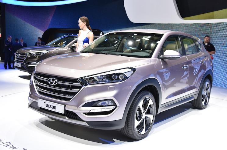 2016 Hyundai Tucson European Spec Front Three Quarter