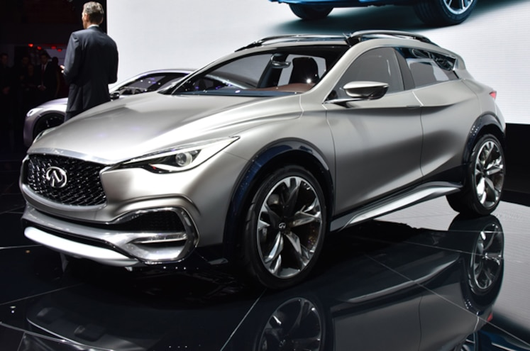 Infiniti QX30 Concept First Look
