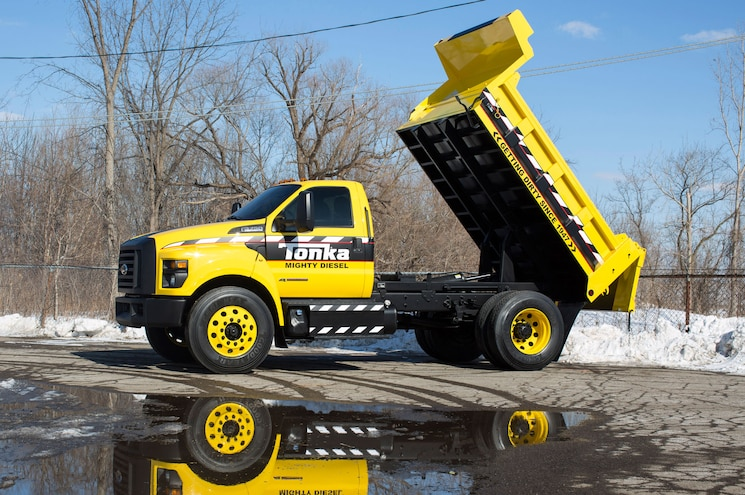 2016 Ford F 750 Tonka Dump Bed 2