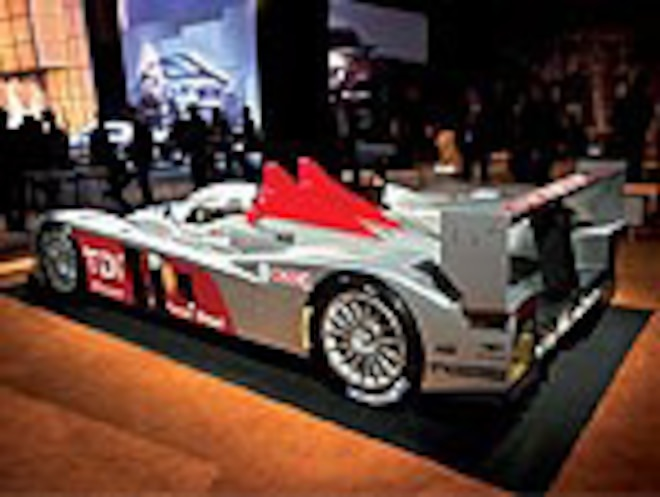 Audi R10 Diesel Prototype - Diesel Alternatives