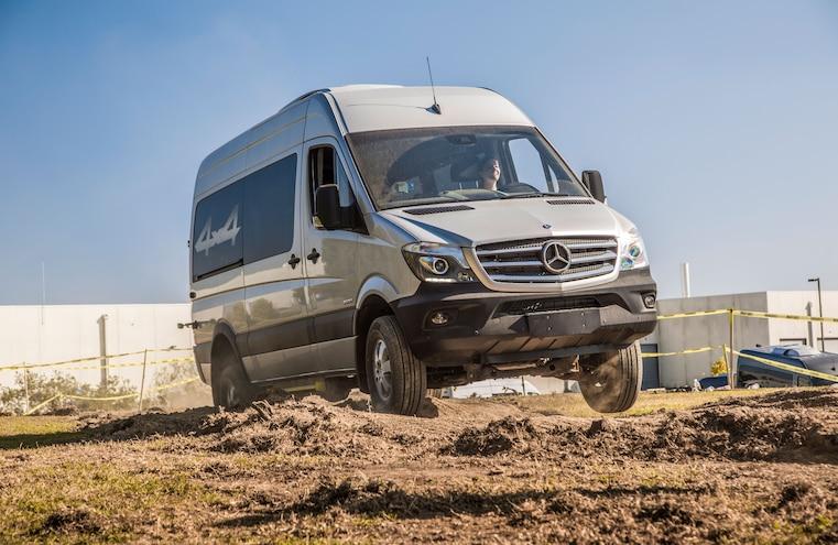 Mercedes Benz Van