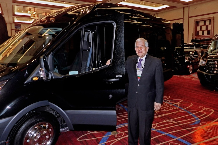 Windy City Limousine President Outbids Himself in Ford Transit Charity Auction