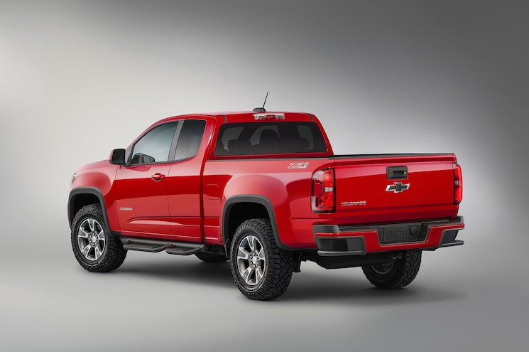 2015 Chevrolet Colorado Z71 Trail Boss Gets New Tires