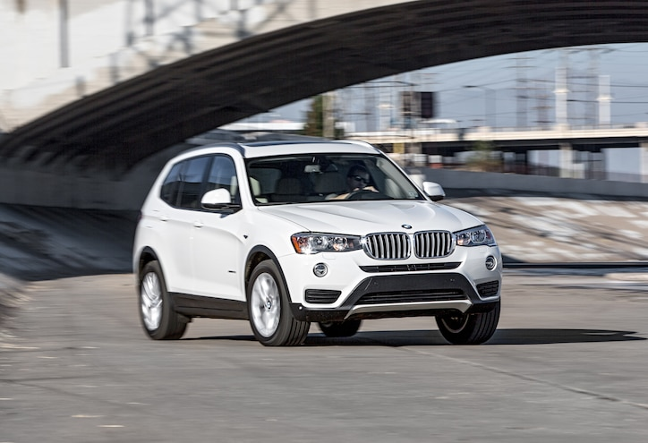 2015 BMW X3 XDrive28i Front Three Quarters In Motion