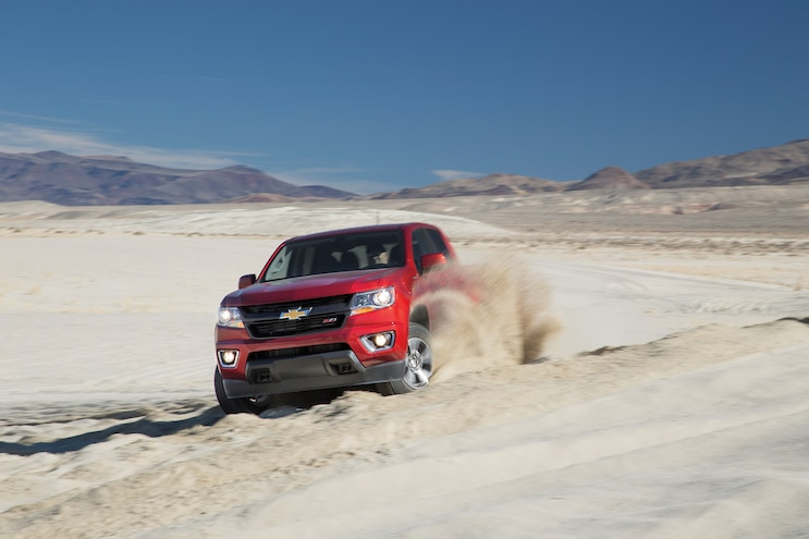 28 2016 Chevrolet Colorado Dune Blasting