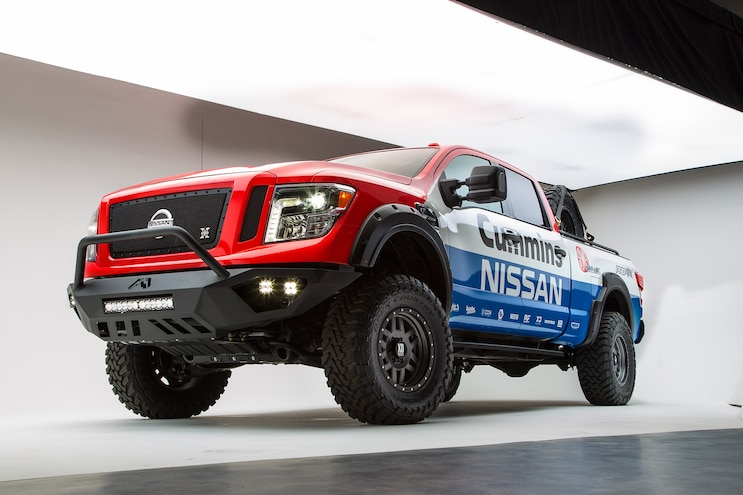 2016 Nissan Titan XD Diesel – Built for SEMA