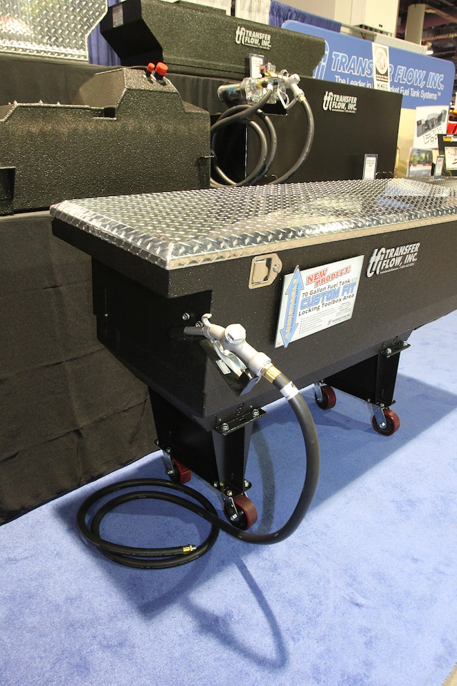 045 Transfer Flow 70 Gallon Fuel Tank Tool Box Combination Refueler SEMA