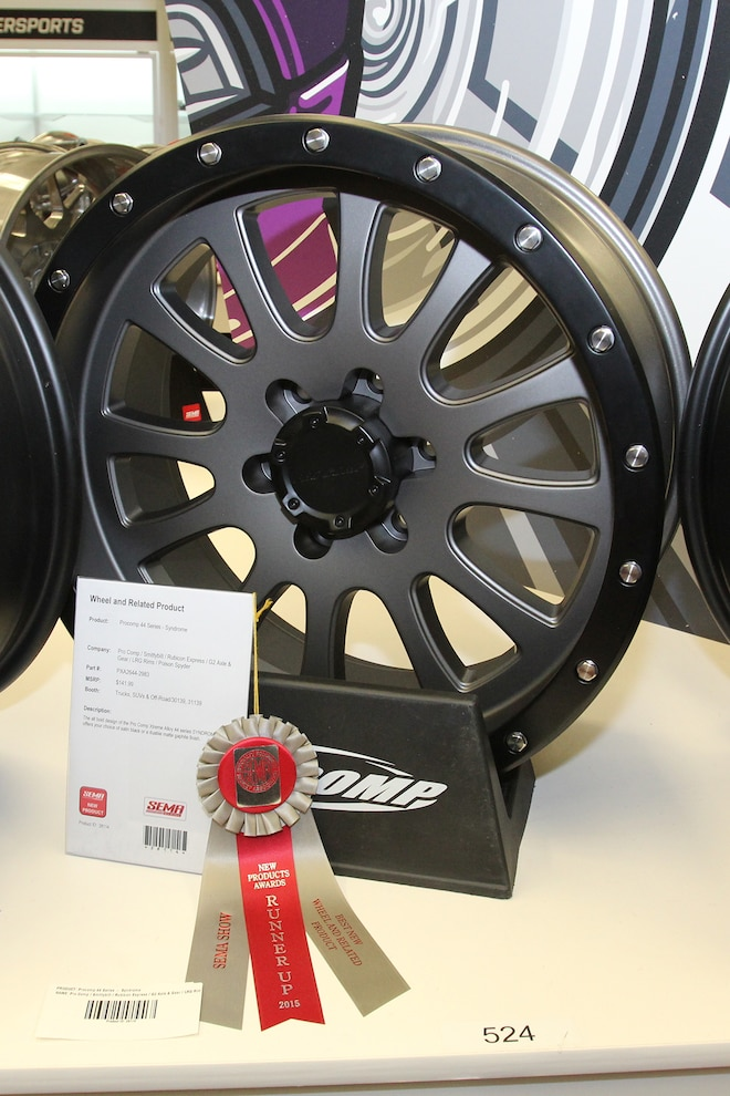 010 ProComp 44 Series Syndrome Wheel SEMA Winner 01