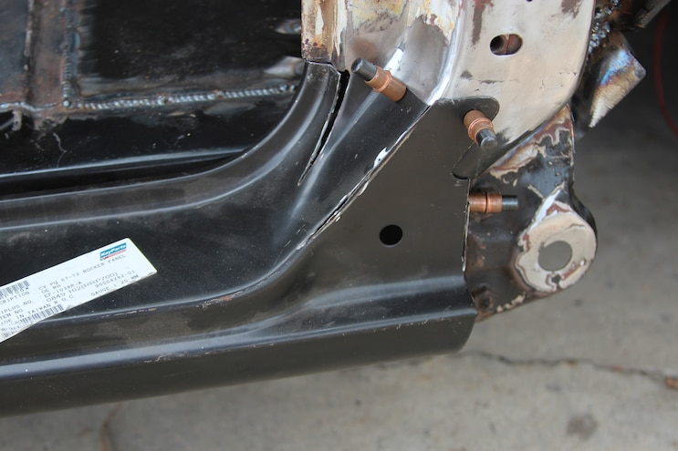 29 1969 Chevroler C 10  Rust Repair